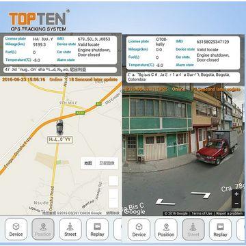 China OBD2 GPS tracker,J1939 protocol,read Trouble Code
