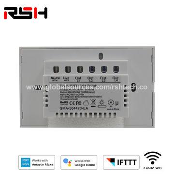 China Wifi Light Switch Wall Switch Wireless Smart Switch