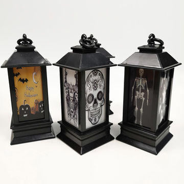 China LED Halloween Series Pattern Lantern Scene Decoration Props ...