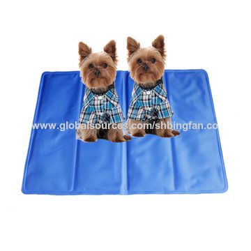 China Gel Cooling Pad Self Cooling Mat For Pet Or Human