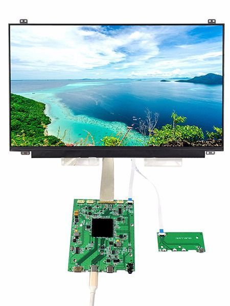 "15.6/"" 4K LCD Screen+Controller Driver Board for NV156QUM-N32 3840×2160 Display"