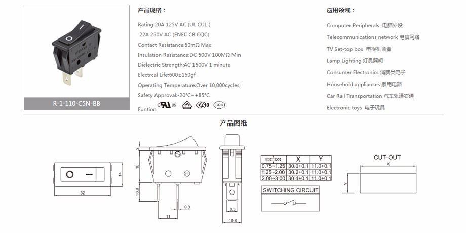 ac 3 prong rocker switch wiring diagram china honyone 3 position mini rocker switch from huizhou  honyone 3 position mini rocker switch