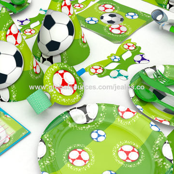 China Party Supplies and Decotation set Football Theme for Kids
