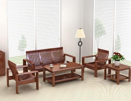 Office Furniture Sofa Wooden Set, Living Room Furnitures Sets