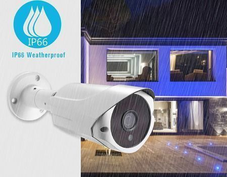 China 1080P 2MP POE IP Bullet Camera Smart Home Camera