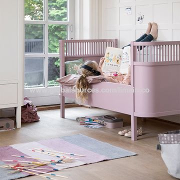 China Baby cot bed baby new born bed crib with net cribs for ...