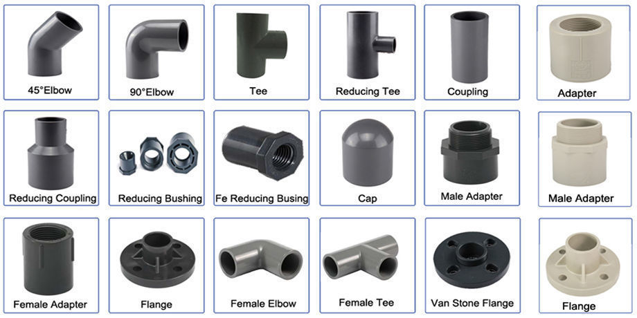 China Catalogue of UPVC Pipe and Fittings Reducing Reducer on Global  Sources,pvc pipes fittings,water pumping fittings,UPVC pipe fitting