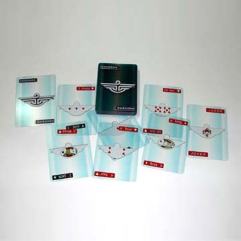 Taiwan 100% Plastic Playing Cards Available in Customer's Designs
