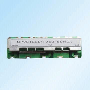 Hong Kong SAR Mono Block Dielectric Duplexer with Frequency Range of 800MHz to 2,000MHz SAW Resonators