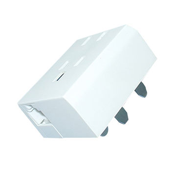 China Telephone Adapter for Poland Market, OEM/ODM Orders Welcome