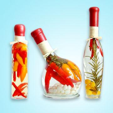 decorative vinegar bottles for the kitchen global sources