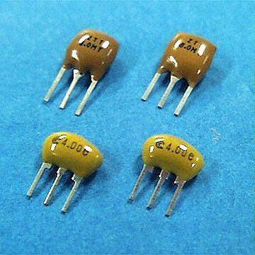 Hong Kong SAR MHz-Band Ceramic Resonators with Built-In Load Capacitors