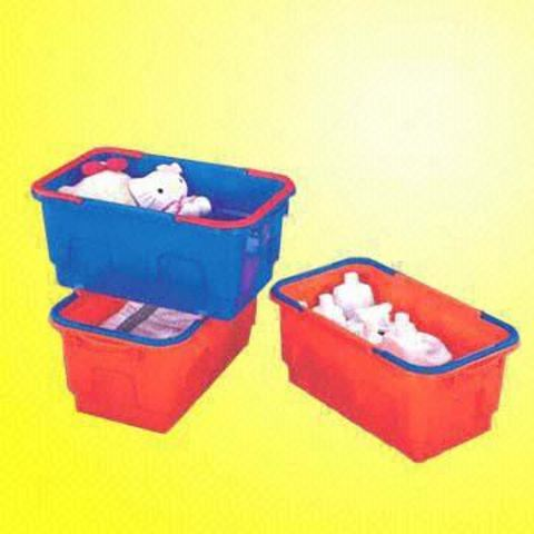 Portable Tool Basket Made of Plastic