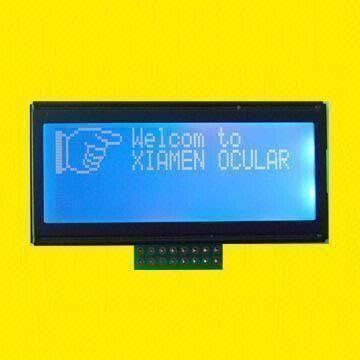 120 x 32 Dots STN LCD Module with 0.42 x 0.6mm Dot Pitch