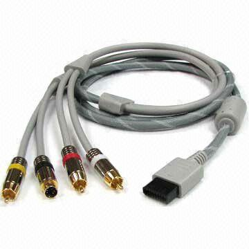 Wii AV S-Video Cable, Available in Grey
