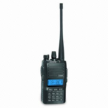China Two-way Radio with Alphanumeric/Dot Matrix LCD and Built-in FM Radio, Used for PMR or Amateur Band