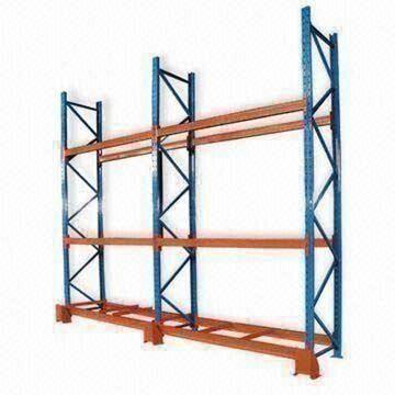 Cold Rolled Steel Tube Pallet Rack, Width from 0.6 to 1.2m