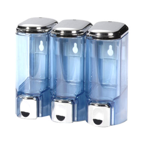 Taiwan 200ml Soap Dispenser, Available in Chrome Plating