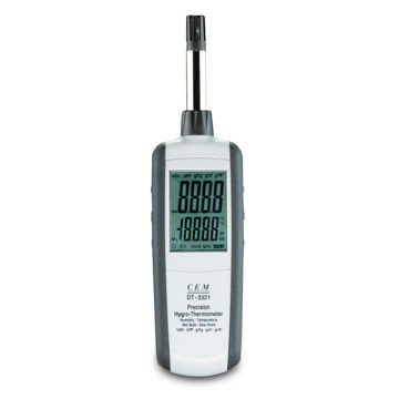 Psychrometer, Can Display Humidity/Temperature, Humidity/Dew Point and Humidity/Wet Bulb