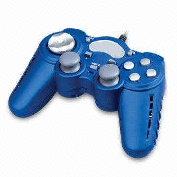 China PS2 Fan Joypad with Twin Analog Sticks and 3 Chill Release Settings