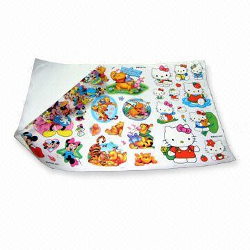 China Self-adhesive Epoxy/Crystal Stickers in Assorted Styles, OEM and ODM Orders are Welcome