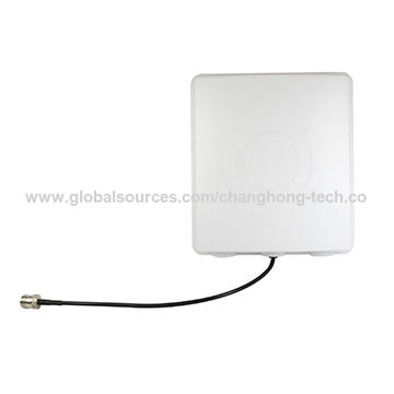 Taiwan WLAN Antenna 2 4G, 15dBi Panel Type with N Jack Connector on