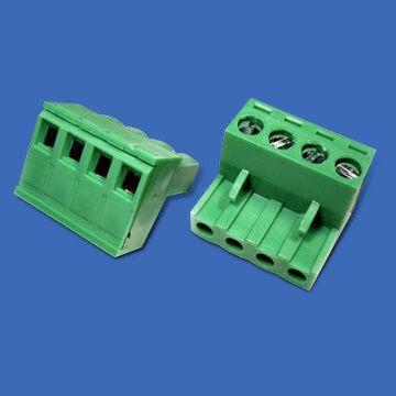 Taiwan 5.0mm Terminal Block with Tin-plated Surface of Solder Tail
