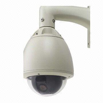 China CCTV Outdoor High Speed Dome Camera with Track Remember Function, Supports 128 Presets