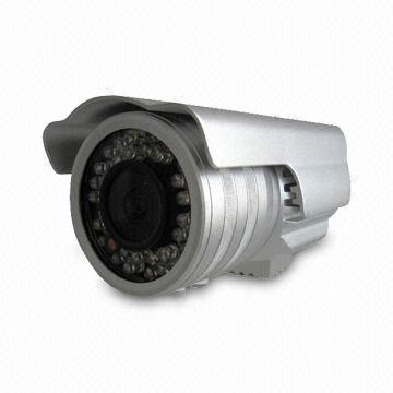 China CCTV Zoom Camera with 4 to 9 or 3.5 to 8mm Varifocal Lens and 36-piece IR LEDs