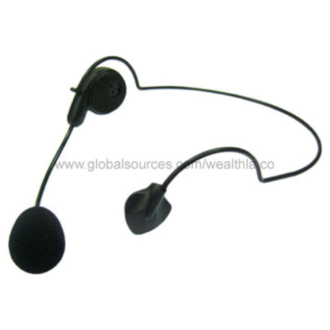 Hong Kong SAR Microphone Headset with 10pF and 33pF Chip Capacitor, Available in Customized Lengths
