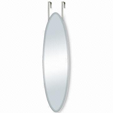China Full Length Wall Door Hanging Mirror In Oval Shape Measuring