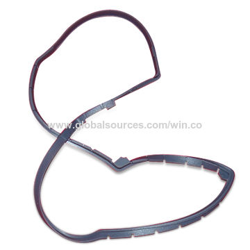 Taiwan Custom-made Gasket, Made of NR, EPDM, NBR, SBR, Silicone, Neoprene Material for Car and Industrial