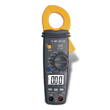 Mini AC/DC Autoranging Clamp Meter, with Data Holding Freeze the Displayed Value