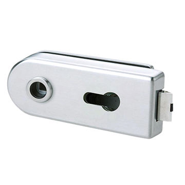 Taiwan Glass Patch Fitting in Square Type, with Passage Latch, Suitable for Glass Door