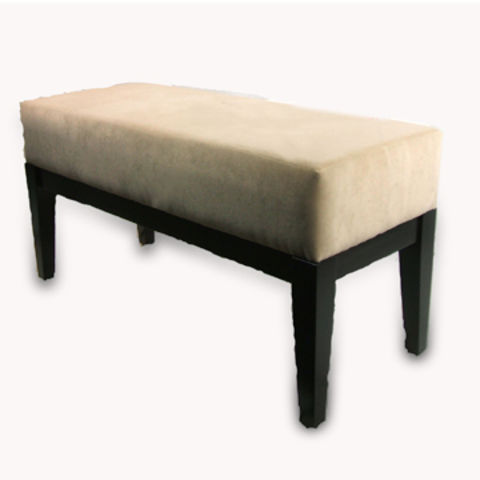 Stool Bench Ottoman Made Of Wood And Cushion Accepts