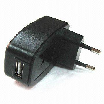 6W AC/DC Switching Power Adapter, Measures 68 x 42 x 27mm