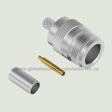 Taiwan Coaxial RF Connector with Female N S/T Jack for RG-141/303/LMR-195
