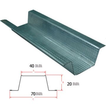 Furring Channel Used For False Ceiling Suspension And Dry