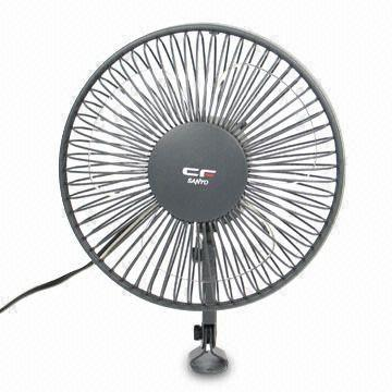 China Car Fan With 12v Dc Power Supply And 6 Inches Blade Diameter