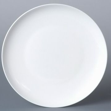 Porcelain 10 5 Quot Dinner Plate Coupe Shape Global Sources