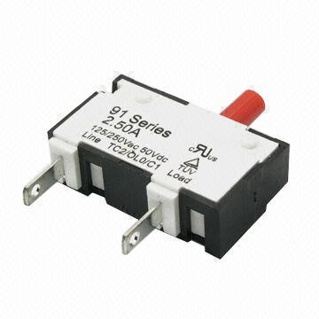 Thermal Circuit Breaker with 1.0 to 10.0A Current Rating and > 500MΩ Insulation Resistance