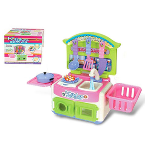 China Plastic Toy, Made Of ABS, Includes Children Toy Kitchen, Various Gift  Available