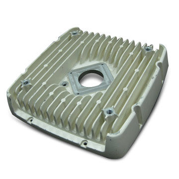 Taiwan Sand Blasting-finished Housing with Heatsink, Made of A360 or AC4C, Used for Electric Converter