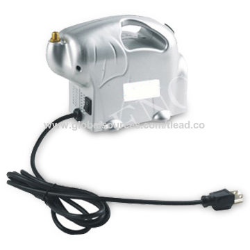 Mini Air Compressor with 1/8HP Power and Thermal Protection