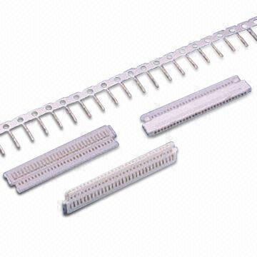 Taiwan Wire to Board Connector with 8 to 40 Poles and 1,000MΩ Minimum Insulation Resistance