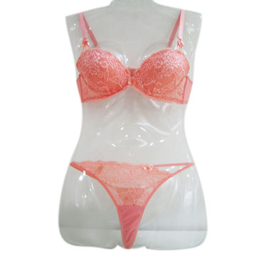 China Women's Lingerie Sets, Available in Colors and Sizes