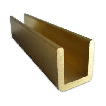 China Brass Extrusion Profile, Copper Window/Door Frames/Decorative/Trim Strip