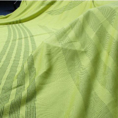 Taiwan Body Mapping Jersey Fabric with Wicking, Made of 100% Polyester