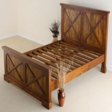 Indian solid wood beds made from indian hardwood from for Cosas hechas con madera