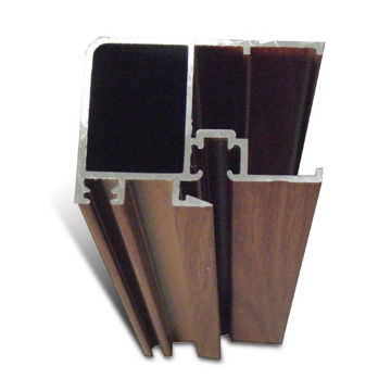 China High Precision Aluminum Extrusion with 10um Film Thickness, Customized Colors are Welcome